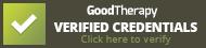 Robyn E Brickel MA, LMFT, Good Therapy Verified Credentials