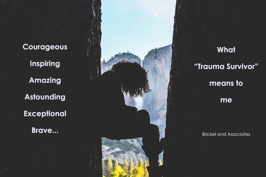 How being a trauma survivor can be empowering